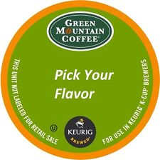 Green Mountain Coffee K-Cup Packs 18, 24 OR 48 - Pick Your Flavor - *New Fresh*