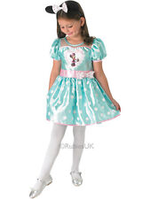 Child Disney Cupcake Mint Minnie Mouse Outfit Fancy Dress Costume Kids Girls
