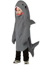 Child Sea Shark Animal Fancy Dress Costume Kids Boys Girls Unisex BN