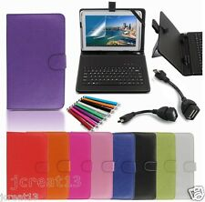 "Keyboard Case Cover+Gift For 10.1"" Polaroid PMID1000 PMID1000B Tablet TY6"