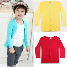 Korean Style Baby Kid Outwear Knit Cardigan Boy Girl Coat Jacket Sweater