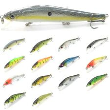 5 inch 2/3 oz Minnow Fishing Lures Tight Wobble Slow Floating Jerkbait M262