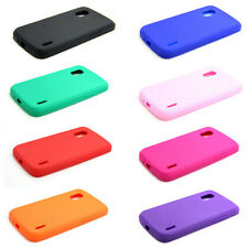 New Rubber Soft Silicone Gel Skin Case Cover For LG Google Nexus 4 E960