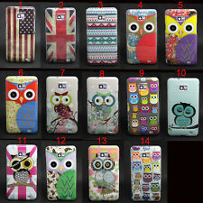 Owl Tribal Pattern Tpu Gel Soft Skin Case Cover For Samsung Galaxy S2 i9100