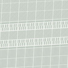 Dolls House Wallpaper 1/12th scale Bathroom Grey Tiles Quality Satin Paper  #14T
