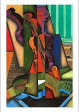 "JUAN GRIS ""Violon er guitare"" violin guitar music abstract NEW CANVAS PRINT"