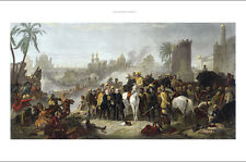 """NEW CANVAS PRINT of CHARLES LEWIS classic """"The Relief of Lucknow"""" india raj!"""