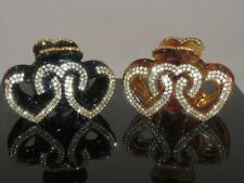 1 New Gorgeous Hair Clip with Shinny Swarovsky Crystals Hair Jewelry Accessories