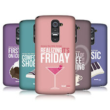HEAD CASE ENJOY THE LITTLE THINGS PROTECTIVE HARD BACK CASE COVER FOR LG G2 D802