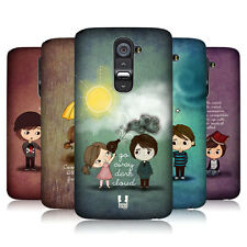 HEAD CASE CUTE EMO LOVE PROTECTIVE SNAP-ON HARD BACK CASE COVER FOR LG G2 D802