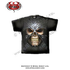 Spiral Direct T-Shirt Gothic Reaper Skull Heavy Metal Punk DEATH MASK DW157600