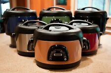 New QVC Technique Electric 6.5 Quart Oval Voice Guided Pressure Cooker Colors