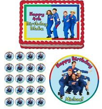 IMAGINATION MOVERS Edible Birthday Party Cake Topper Cupcake Image Decoration