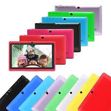 "7""  ANDROID 4.4 KitKat Capacitive 16GB 512M A33 Dual Camera Wifi 3G Tablet PC"
