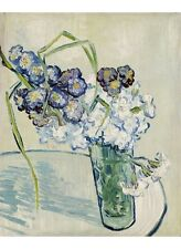 """VINCENT VAN GOGH """"Vase Of Carnations"""" print ON CANVAS various SIZES, BRAND NEW"""