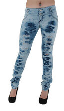 DJ1555 - Colombian Design, Stretch Butt Lift, (Levanta Cola) Ripped Skinny Jeans