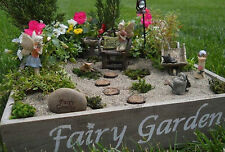Fairy Garden Vintage Wood Planter Box - Perfect for Miniature Fairy Gardens!