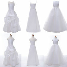 Stylish 5 Styles White Flower Girl Dress Pageant Bridesmaid Wedding Party Dress