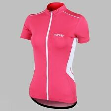 New Women's Cycling Jacket Outdoor Bike Bicycle Short Sleeve  Jersey S-XL Santic