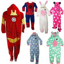 Boy Girl Kids Unisex Spiderman Minnie Mouse Anime Onesies All in one Jumpsuit