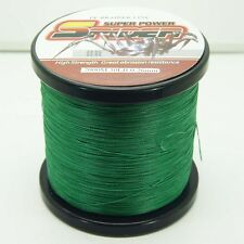 2000M/2187yds Moss Green 6LB-100LB Super Strong Dyneema PE Braided Fishing Line