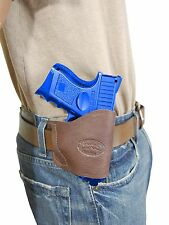 New Barsony Brown Leather Yaqui Gun Holster Smith & Wesson M&P Compact 9mm 40 45