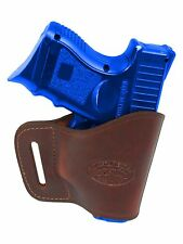 New Barsony Burgundy Leather Yaqui Gun Holster Ruger Compact 9mm 40 45