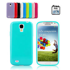 Jelly Silicone Gel TPU Soft Case Cover for Samsung Galaxy S4 i9500 i9505 4G
