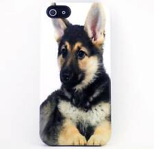 German Sheppard Puppy Dog CUSTOM Cover Case Skin for iPhone 4/4S/5/5S/5C NEW
