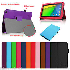 "For Dragon Touch 9"" A13, TMAX 9"" HD, ProntoTec PT9, NeuTab 9"" Case Leather Cover"
