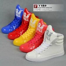 Men's high-top shoes big tongue fluorescent candy colored fashion casual shoes!
