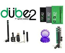 New Dube 2 Vaporizer 3-in-1 for Liquid Dry Blends & Waxy Oils + FREE Grinder