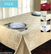 Laura Rose™ Damask Oblong Tablecloth By Regal Home Collections®