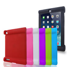 Silicone Rubber Soft Impact Shock Resistant Easy Hold Case Cover For Apple iPad