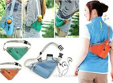 Cycling Running Jogging Bike Fanny Pack Belt Waist Bag Water Bottle Holder Drink