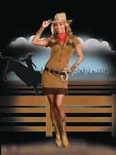 Giddy Up Cowgirl Diva Western Adult Women Costume
