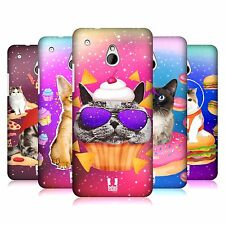 HEAD CASE DESIGNS REALISTIC CATS IN ARTIFICIAL SPACE CASE COVER FOR HTC ONE MINI