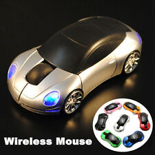 1600DPI 3D Car Shape 2.4G Wireless Optical Mouse USB Receiver For PC laptop WIN7