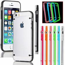 For iPhone 5 / 5S Ultra Thin Transparent Crystal Clear Hard TPU Case Cover