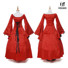 Lady Gentlewoman Renaissance Medieval Game of Thrones Costume Cosplay Dress Gown