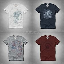 Abercrombie and Fitch Hollister Men's Indian limited Tee T Shirt S M L XL XXL