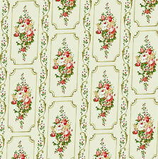 Dolls House Wallpaper 1/12th 1/24th scale Beige Vintage Quality Paper #242