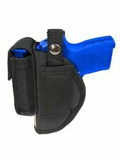 New Barsony Belt Loop Holster w/ Mag Pouch Ruger Kimber 380 Ultra-Compact 9mm 40