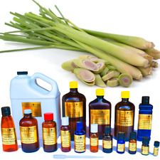 Lemongrass Essential Oil Premium Grade Therapeutic Sizes from 3ml to 1 Gallon