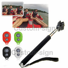 Remote Self-Timer Camera Shutter Wireless Bluetooth For iphone 3 4 4s 5 5s