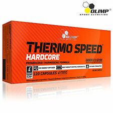 Thermo Speed Hardcore 30-180 Caps Fast Fat Burn Stimulation Body Weight Control