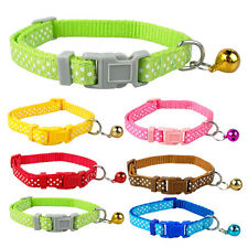 Nylon Dog Puppy Cat Collar Cute Print Variety of Colors 1.0/1.5/2.0/2.5cm Width