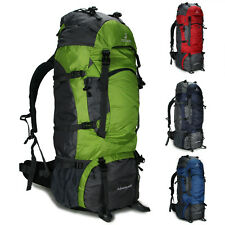 Sport 80L Military Travel Hiking Camping Luggage Backpack Rucksack Bag Men women