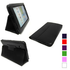 Folio Style PU Leather Pouch Case Cover For Samsung Galaxy Tab 2 7.0 Tab2 7 3100