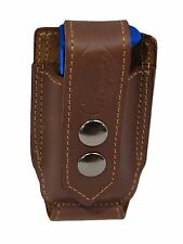 NEW Barsony Brown Leather Single Mag Pouch Llama, NA Arms Mini/Pocket 22 25 380